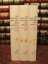 THE CIVIL WAR AT SEA - BY VIRGIL CARRINGTON JONES - BRAND NEW COMPLETE SET