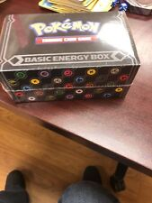 Pokemon TCG PreRelease BASIC ENERGY CARD BOX Kit Pack * Factory Sealed