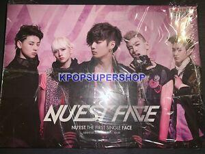 Nu'est 1st Single Album Face CD Photocard First New Sealed Photocard Rare OOP