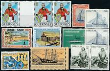 [126296] Worldwide Boats good lot of stamps very fine MNH
