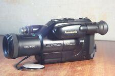 Panasonic NV-G120 EN Video Camcorder  VHS-C Movie camera X8/WIDE