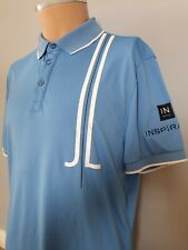 Mens J.lindeberg Tour Issue Golf Polo Shirt Top Size Large Sponsors