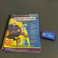 New Quantum Pad Leap Interactive Book & Cartridge Smart Guide To 3rd Grade8 -9
