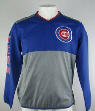 Chicago Cubs MLB Men's G-III Blue & Gray V-Neck Pullover