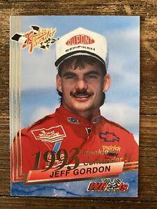 1993 Wheels Racing Rookie Contender # 32 JEFF GORDON ROOKIE THUNDER  WINSTON CUP