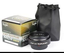 Kenko Teleplus DGX 1.4X MC4 Converter for Nikon AF Mint Box