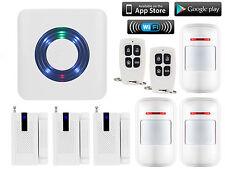 S16 WiFi IP Internet APP Control Wireless DIY Home Security Alarm Burglar System