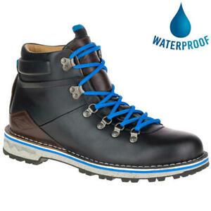 Merrell Sugarbush WP Mens Waterproof Leather Walking Hiking Boot Black Size 7-13
