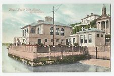 lo postcard ireland cork royal yacht club house queenstown titanic related