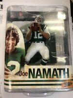 Mcfarlane NFL JOE NAMATH NEW YORK JETS series 33 NFL Legends NIP