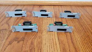 Lot of 5 - Epson Printer Power Plus USB Interface Module UB-U06 2083101 M186B