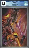 Thanos #16 CGC 9.8 Shaw VIRGIN Variant 3rd Print SILVER SURFER