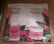 Shea Moisture Coconut & Hibiscus Curl Enhancing Smoothie, Shampoo Sample Packet