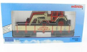 Märklin MAXI - CIRCUS MAXIMALE + Siku Fendt Traktor Sondermodell - 2001 Spur 1