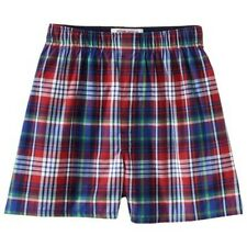 Mossimo Supply Co. Men's Plaid Boxers - Red M 32-34 Slim Fit Boxers 100% Cotton