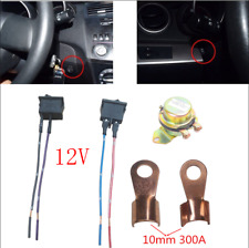Car Battery Switch Electromagnetic Disconnect Main Master Kill Dash Button 12VDC