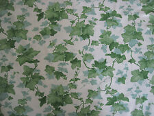 "SANDERSON CURTAIN FABRIC ""Hedra"" 2.2 METRES GREEN VINTAGE COLLECTION (220 CM)"