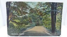 Vintage Postcard Plantation Wigan Lancs 1917 Reference to WW1