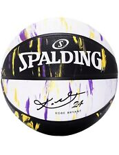 Spalding Kobe Bryant Marbled Snake Official Basketball 29.5'' White Purple Yello