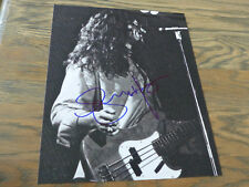 GLENN HUGHES signed Autogramm auf 20x25 Foto InPerson DEEP PURPLE BLACK SABBATH