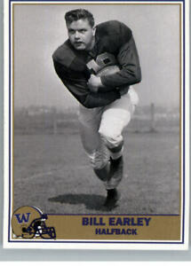 1992 Pacific Washington Huskies Football Greats Bill Early #19