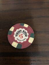 $5 Virgin River Casino Chip Mesquite Nevada