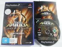 Tomb Raider Anniversary PS2 Playstation 2 MINT DISC