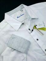 Robert Graham Geometric Lewiston Sports Shirt 4XL Egyptian Cotton $199
