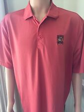 US OPEN 2007 OAKMONT, Men's Salmon Ashworth Golf Shirt, Size XL