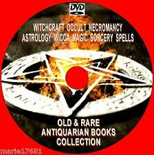 VAST COLLECTION OLD & RARE WITCHCRAFT WICCA MAGIC ANTIQUARIAN BOOKS NEW PCDVD