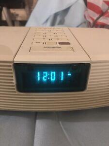 Bose Wave Radio AWR1-1W AWR1W1 AM/FM Alarm Clock FOR PARTS REPAIR