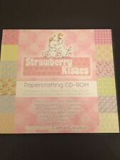 CRAFTERS COMPANION STRAWBERRY & KISSES - PAPERCRAFTING CD-ROM CRAFT