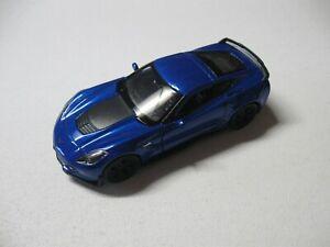 H-Customs Welly Corvette Z06 Sports Car Model Car Auto Prodotto con Licenza 1 39 Blu 34-1