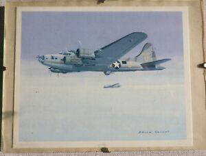 WW2 AIRCRAFT FRAMED PRINTS (QTY 4)