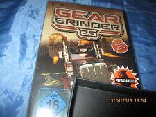 PC  DVD  -  ROM  ,  GEAR GRINDER  ,  Action - Spiel  , neu , ovp.