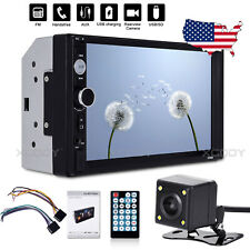 """7"""" 2 DIN Car Stereo Radio MP5 Player In-Dash AUX USB + Parking Monitor Cams Kit"""