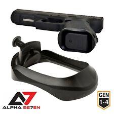Alpha Se7en Pro Aluminum Flared Magwell Glock 17/22/24/31/34/35/37 (Gen 1 2 3 4)