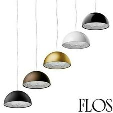 Flos Skygarden Small Hanging Lamp For LED Light Diffused IN Chalk By Marc