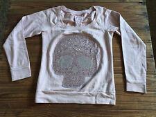 Used - Sweater BERSHKA Jersey - Skull / Calavera - 100% Cotton - Size M -  Usado