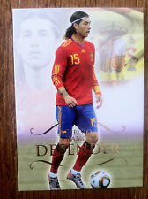 2011 Futera Unique Soccer Card - Spain SERGIO RAMOS Mint
