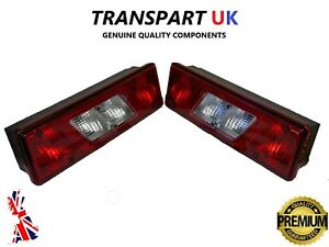 FORD TRANSIT MK8 TIPPER REAR TAIL LIGHT LAMP x2 PICKUP TRUCK RECOVERY LUTON PAIR