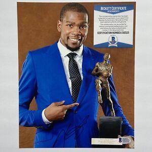 Kevin Durant Signed 8x10 Photo Autograph Beckett COA Brooklyn Nets Thunder