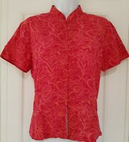Womens Anokhi For East Pink Floral Indian Cotton Boho Ethnic Blouse Top 14