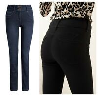 ex-branded Lift, Slim and Shape Skinny High Waist Jeans