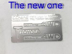 Metal Toyota logo Set for 1:10 TAMIYA Hilux Bruiser RC4WD TF2