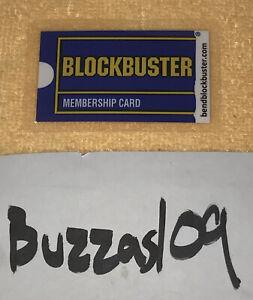 Laminated NETFLIX 'The Last Blockbuster' Bend, Oregon Membership Plastic Card