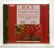 JEREMY BROWN, SETA TANYEL - BAX sonata, red automn etc. CHANDOS CD STILL SEALED