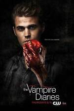 THE VAMPIRE DIARIES TVD Poster PAUL WESLEY CW Ian Somerhalder NINA DOBREV Apple