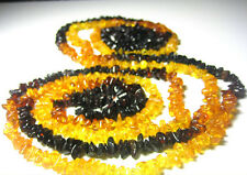 "Genuine Baltic Amber Necklace 78"" . 200cm"