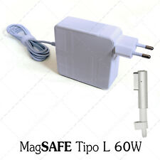 """Cargador adaptador 60W 16,5V 3,65A COMPATIBLE Apple Macbook Pro MagSafe 1 13"""" SP"""